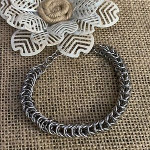 """Stainless Chainmail Bracelet 7.5"""""""